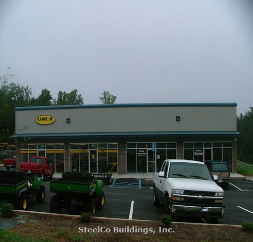Steel Building Kits And Metal Buildings By Steel Building: Metal Strip Mall & Retail Buildings