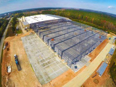 Warehouse Expansion in Greensboro, GA