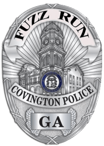covington fuzz run badge